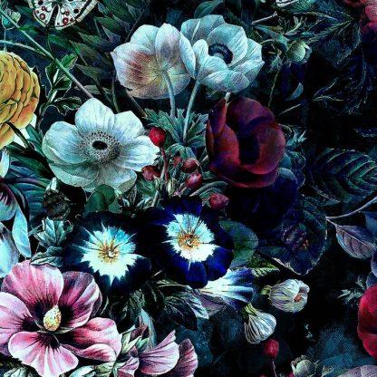 Design for Night Garden Leggings by RIZA PEKER
