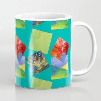 Paint squares mug