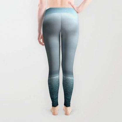 Sea Under Moonlight Leggings by Andreas12